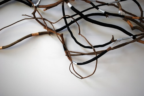 Sculptures by Christina Watka seen at Private Residence, Easthampton, NY, East Hampton - Root System