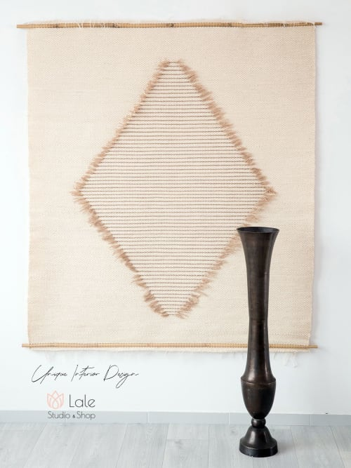 Wall Hangings by Lale Studio seen at Creator's Studio, Trzebinia - laine tapestry