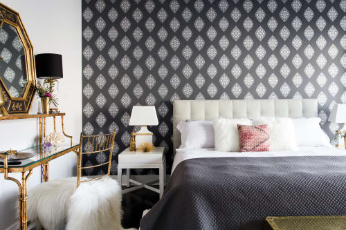 Wallpaper by Relativity Textiles seen at Private Residence, Chicago, IL, Chicago - Boteh