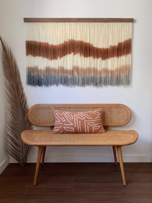 Wall Hangings by Kait Hurley Art seen at Private Residence, Tucson - Clay