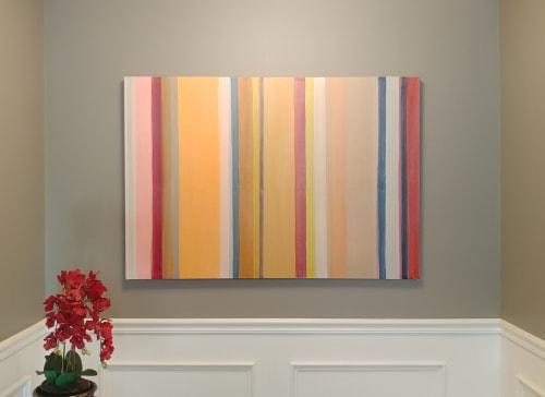 "Paintings by Matthew Mahler seen at Private Residence, Setauket- East Setauket - ""Thirty-Something II"""