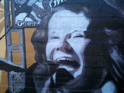Street Murals by Anna-Lisa Notter seen at Queen Anne, Seattle - Silver Platters Queen Anne