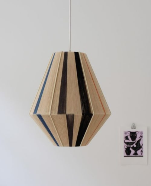 Pendants by Werajane Design seen at Private Residence, Copenhagen - Louis