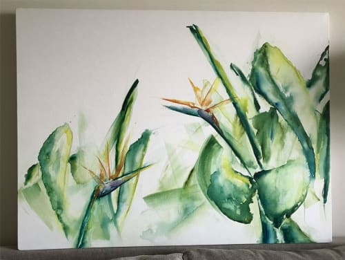 Paintings by Mindful Murals seen at The Gramercy Residences, Makati - Painting