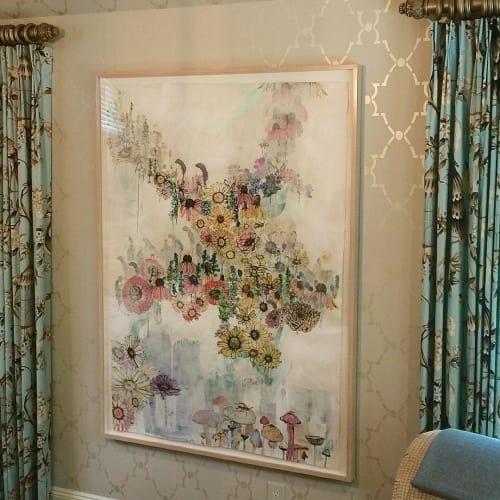 Paintings by Sage Vaughn at Private Residence, Brooklyn - Wildflowers