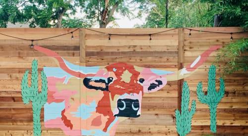 Micheline Halloul - Murals and Street Murals