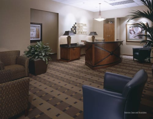 Interior Design by Interiors Joan and Associates seen at Hauptman, O'Brien, Wolf & Lathrop, P.C., Omaha - Interior Design