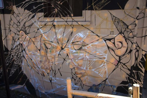 Murals by onerary :: Danielle DeRoberts seen at Brave New Wheel, Fort Collins - Into Being Mural