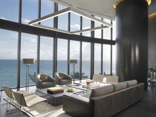 Interior Design by Michael Wolk Design Associates seen at Porsche Design Tower Miami, Sunny Isles Beach - PORSCHE DESIGN TOWER
