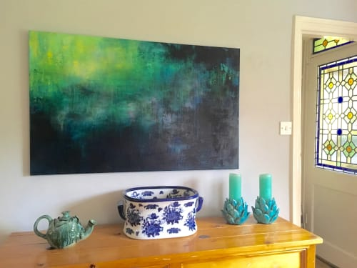 Paintings by Sue Graham seen at Private Residence, Long Crendon - Millpond 2