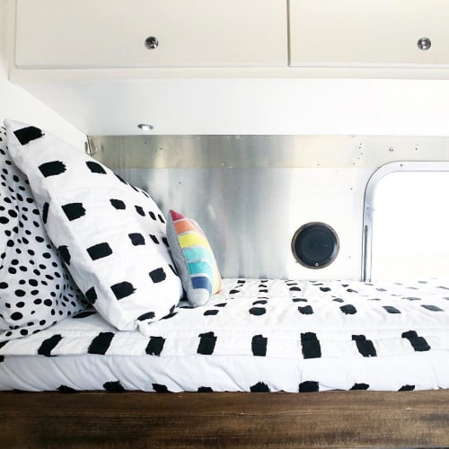 Linens & Bedding by Beddy's seen at Tiny Shiny Home - Linens