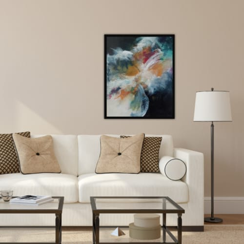 Paintings by Marianne H Nielsen seen at Private Residence, Ottawa - Silent Wishes