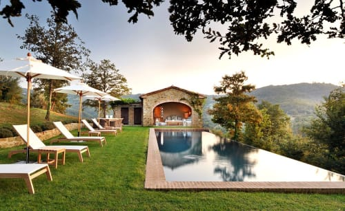 Interior Design by Nicky Dobree Interior Design seen at Private Residence - Tuscan Villa Design