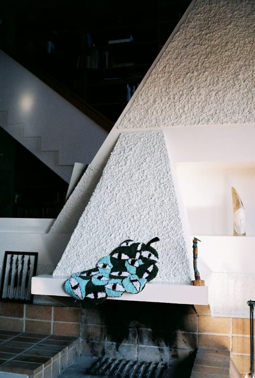 Rugs by Tatiana May seen at Private Residence, Athens - Strange Fruit