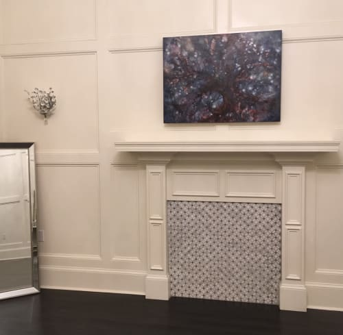 Paintings by Kim Howes Zabbia seen at Le Fleur De Lis Reception Hall and Louisiana Catering Company, Ponchatoula - Fathom