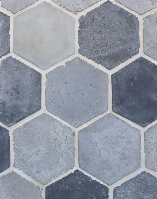 Tiles by Avente Tile seen at Starbucks, Los Angeles - Hexagon Ceramic Tiles