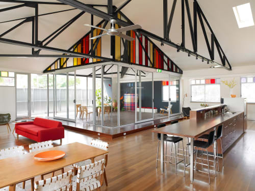 Kaleidoscope Arts Crafts Studio By Phooey Architects Seen At Private Residence Thornbury Wescover