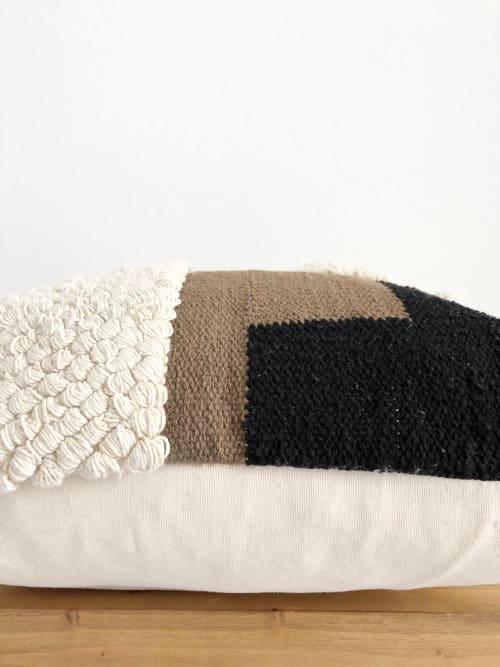Pillows by Coastal Boho Studio seen at Creator's Studio, Frisco - Audun Handwoven Pillow Cover