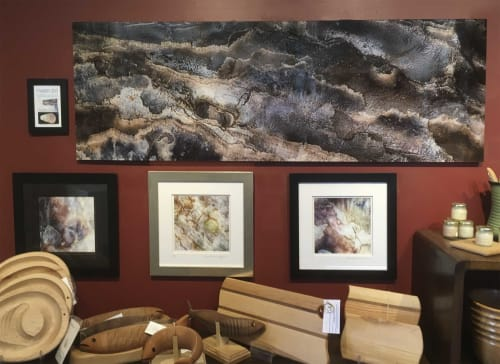 Photography by Oyster Art seen at The Dunes Studio Gallery & Cafe, Brackley Beach - Ambiguity
