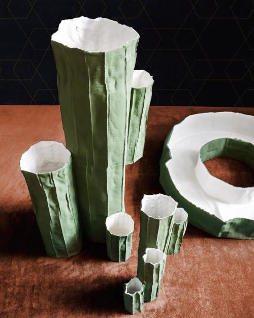 Sculptures by Paola Paronetto seen at Claude Cartier Decoration, Lyon - Paper Clay Cactus