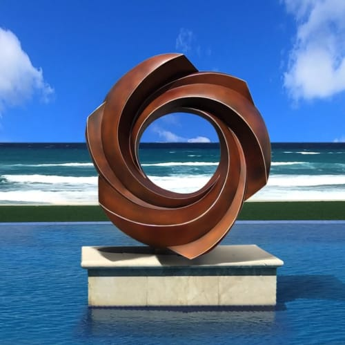 Architecture by Alexander Krivosheiw seen at Private Residence, Palm Beach - SACRED LEGACY