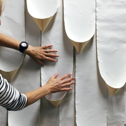 Wall Treatments by Amy Parry Projects seen at McCormick Place, Chicago - Grab and Go | McCormick Place Marriott