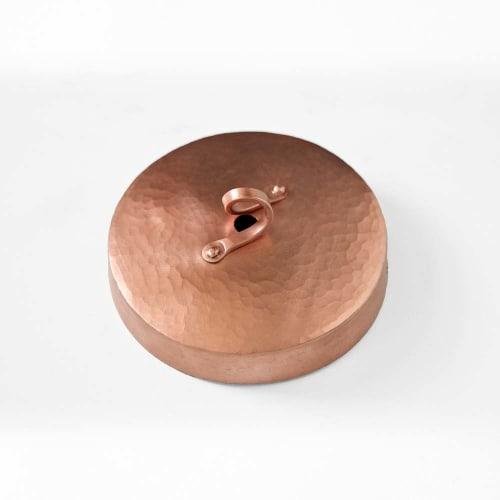 Pendants by l'aviva home seen at Private Residence, Santa Cruz - Cobre Collection, Campana Pendant