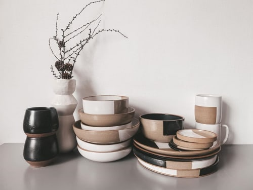 Logan Wall - Cups and Plates & Platters