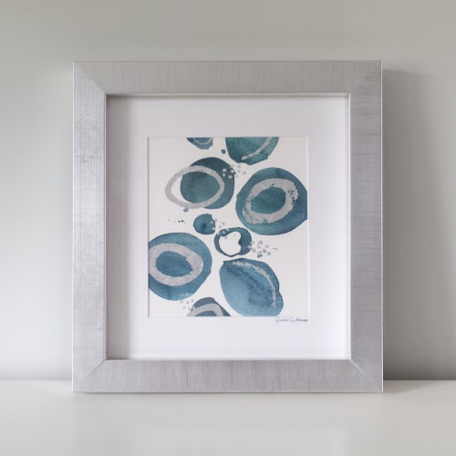 Blooms No. 2 - Embellished Print   Paintings by Julia Contacessi Fine Art