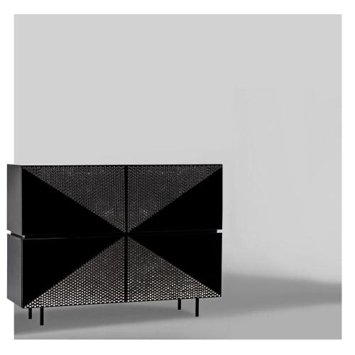 Furniture by Larissa Batista seen at Porto Alegre, Porto Alegre - Tigah Wine Rack Sideboard