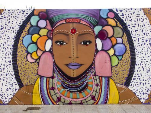 AIDA MIRO - Street Murals and Public Art