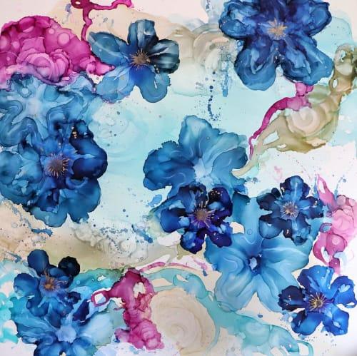Paintings by Amanda M Moody seen at Creator's Studio, Charlotte - menagerie