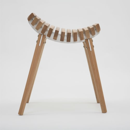 Chairs by Troy Backhouse seen at t bac design, Fitzroy - Ane stool