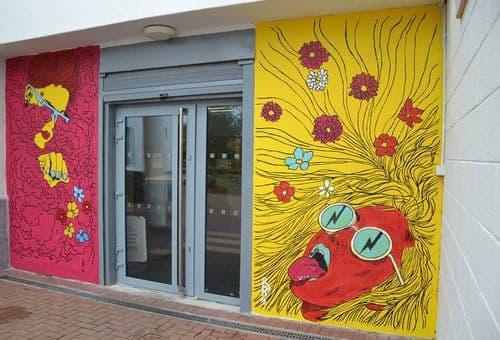 Brandon O'Rourke - Street Murals and Murals