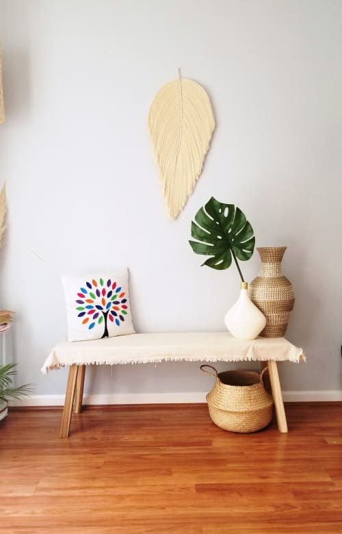 Macrame Wall Hanging by YaShi Handmade seen at Private Residence, Milpitas - Parna