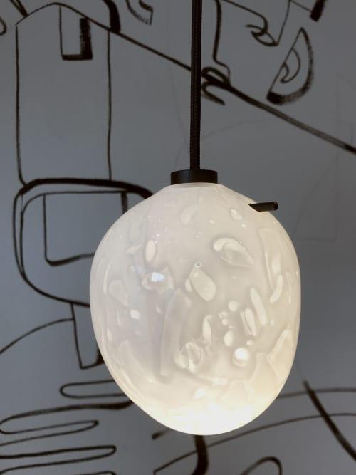 Pendants by BAIBA GLASS seen at Mīkla, Rīga - POLAR Pendant   Small