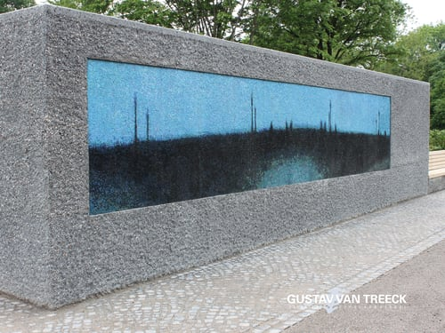 Public Mosaics by Gustav van Treeck Studios with edition van Treeck at Artist Studio, Munich - Gustav van Treeck Mosaiks
