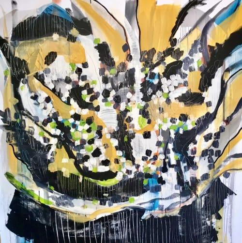 Murals by Susana Aldanondo seen at New York, New York - Jazz In The Air