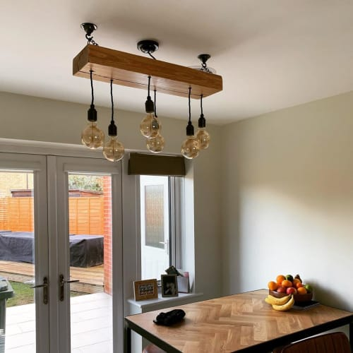 Chandeliers by MooBoo Home seen at Private Residence, Torquay - Chandelier