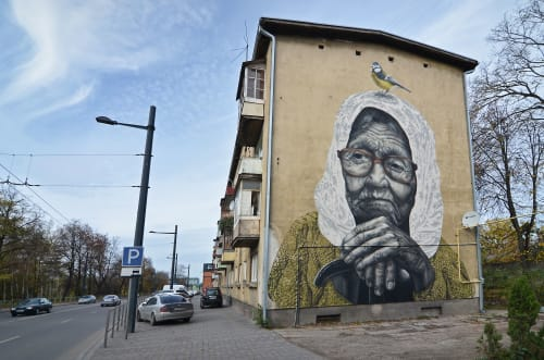 The Winter is Over | Street Murals by Gyva Grafika