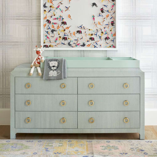 Furniture by Scout Design Studio seen at Private Residence, Dallas - Jackie Changing Table