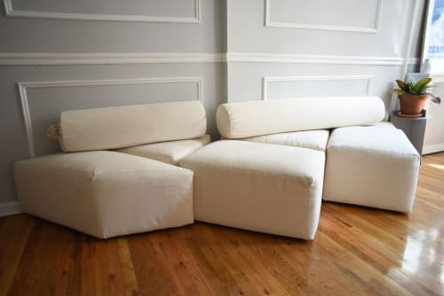 Couches & Sofas by Hannah Fink seen at Private Residence, Brooklyn - Tangram Sofa