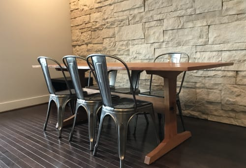 Tables by Godet Woodworking seen at Private Residence - PZ Dining Table