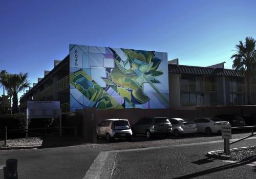 Street Murals by Clyde seen at Phoenix, Phoenix - Avenue 19 Mural