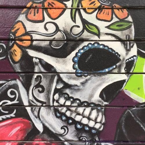 Delgado Guitars | Street Murals by Olasubomi Bashorun | Delgado Guitars in Nashville