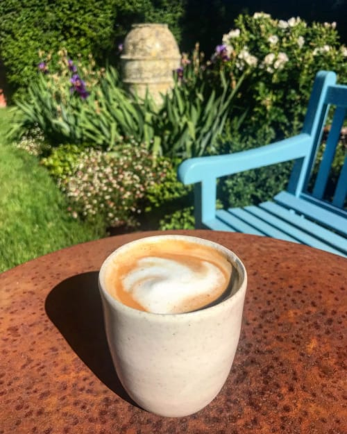 Cups by Sundborn Ceramics seen at Private Residence, Brunswick - Coffee Tumbler