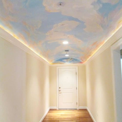 Murals by Murals by Georgeta (Fondos) seen at Chesapeake Bay - Chesapeake Bay Ceiling Mural