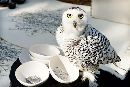 Tableware by Adarbakar seen at restaurante Koh, Barcelona - Stoneware bowl