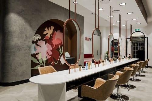 Interior Design by Strutt Studios seen at Hermosa Hair Salon Merrylands, Merrylands - Hermosa Hair Salon Project