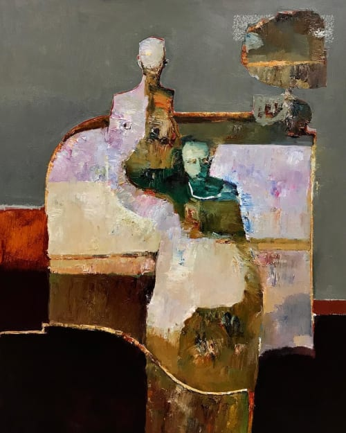 Paintings by Danny McCaw seen at Private Residence, Torrance - Painting